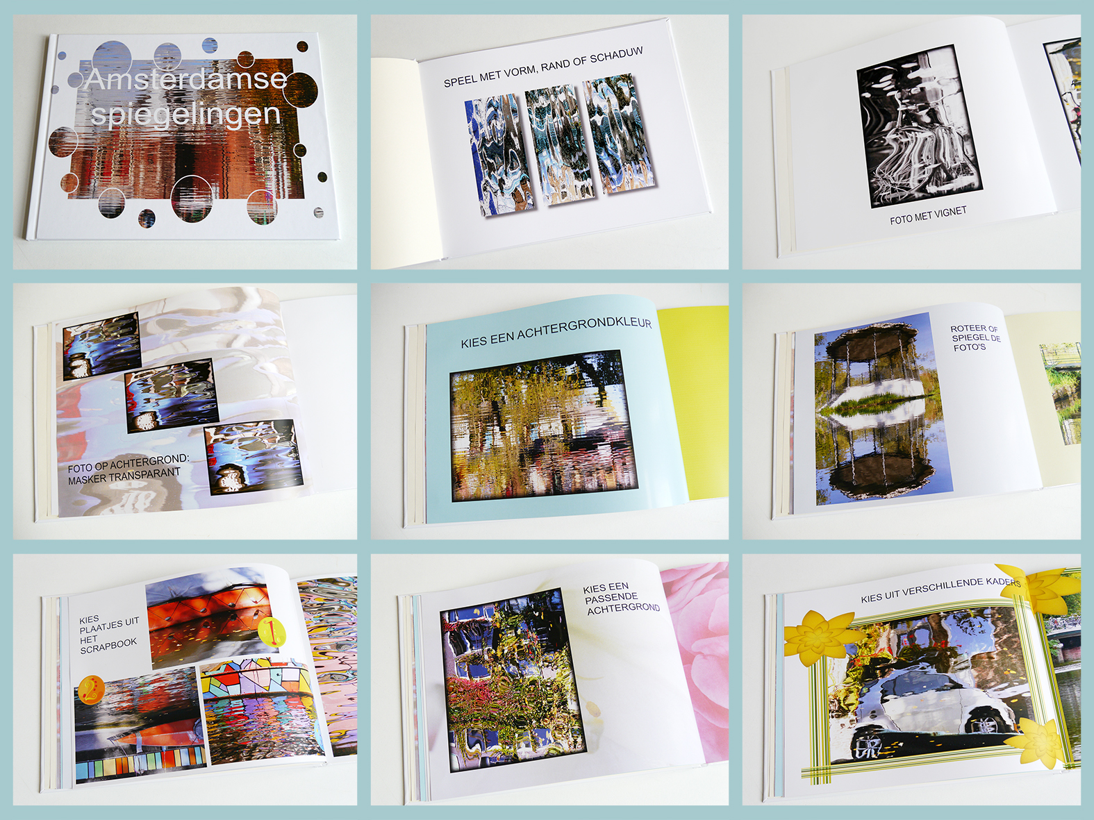 collage fotoboek