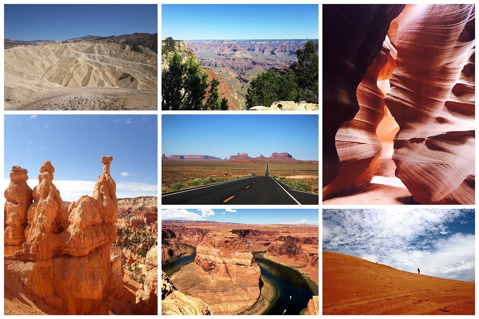 vakantie collage