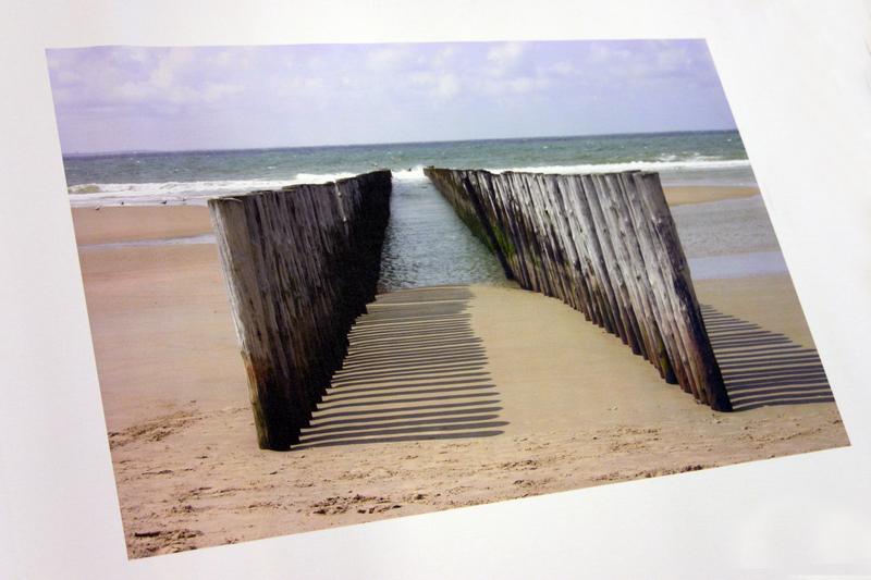 Foto op los canvasdoek 20x60 cm