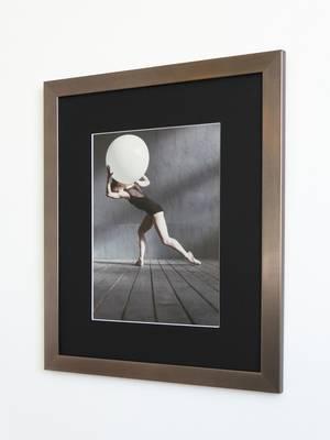 Foto in luxe fotolijst 21x29 cm