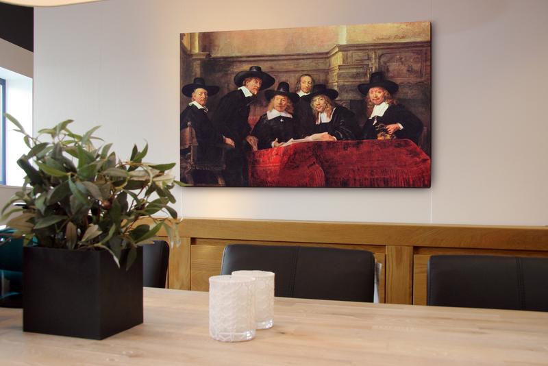 Fine art canvas (framedikte 4 cm) 100x130 cm