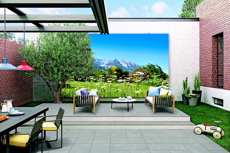 Buiten canvas 100x178 cm