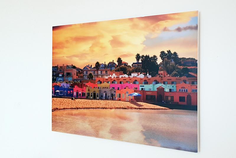 Foto verlijmd op forex 40x80 cm