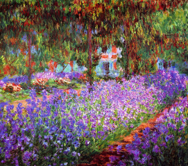 Tuin in Giverny (Monet)