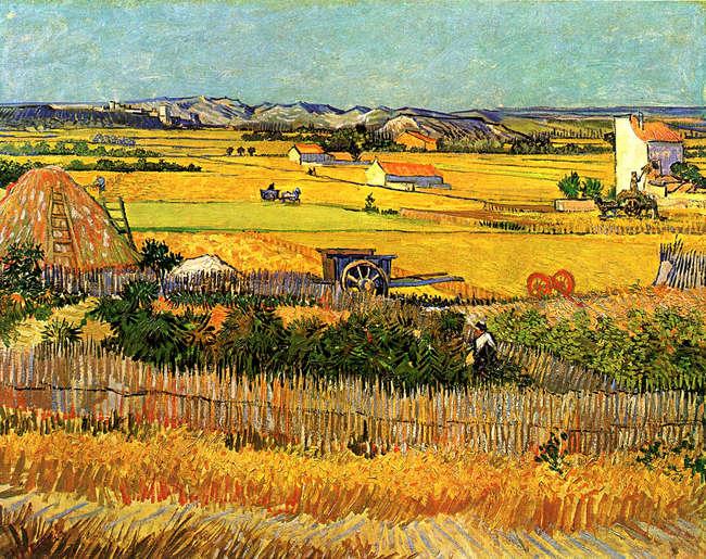 Oogst in Arles (van Gogh)