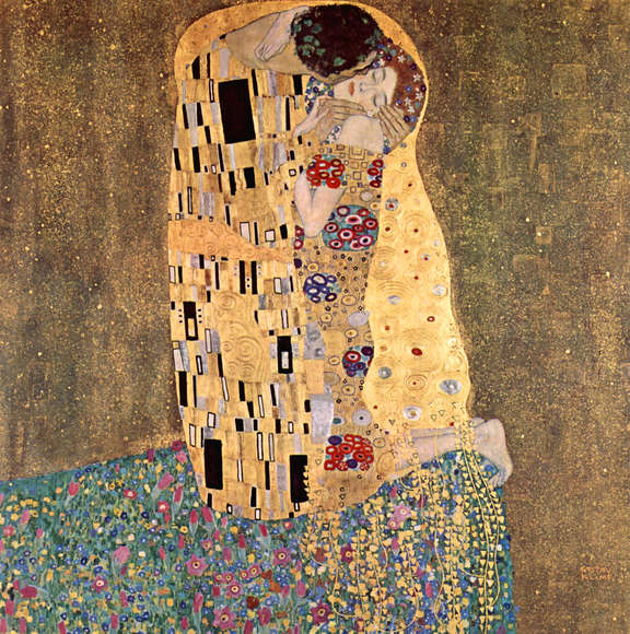 De kus (Klimt)