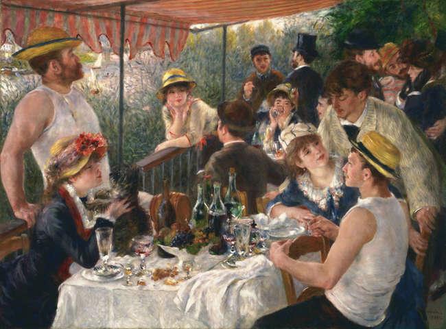 Lunch van de roeiers (Renoir)